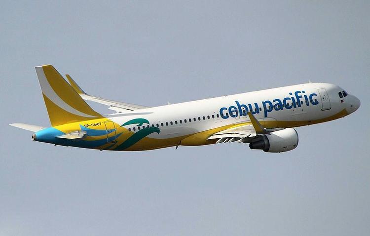 самолет Cebu Pacific